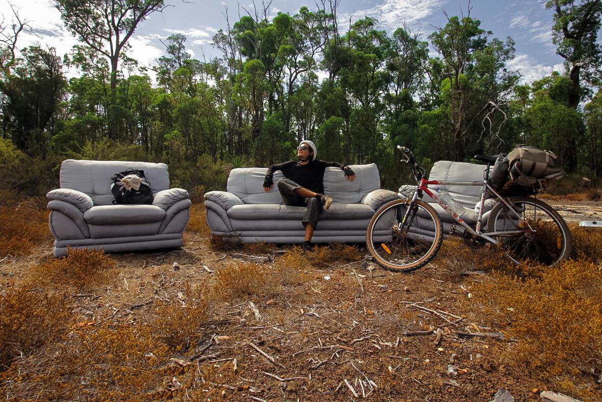 Canapé Australie
