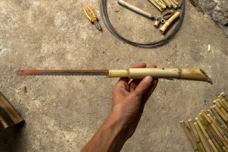 La scie en bambou