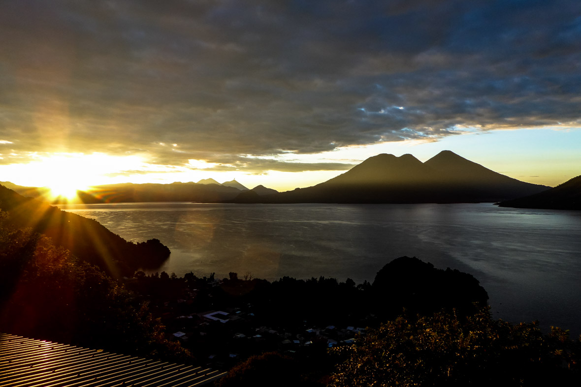 Sunrise Lake Atitlan